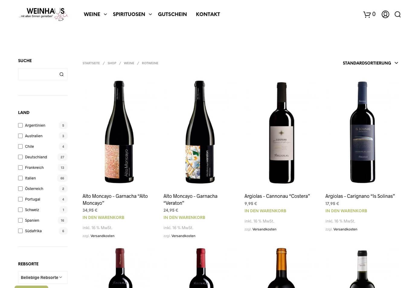 Weinhaus Rieg Online-Weinshop