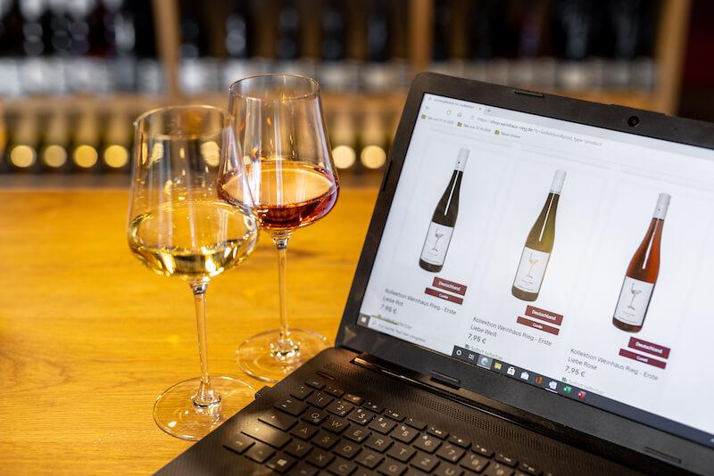 Weinhaus Rieg Online Shop